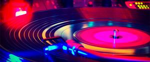 Neon Turntable